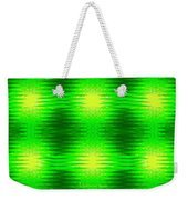 197 - Deco Green 2 Weekender Tote Bag