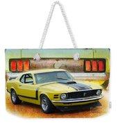 1970 Boss 302 Mustang Weekender Tote Bag
