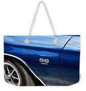 1970 Chevy Chevelle 454 Ss  Weekender Tote Bag