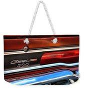 1970 Dodge Charger 500  Weekender Tote Bag
