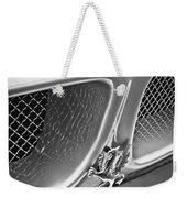 1970 Iso Rivolta Grifo Emblem  -0146bw Weekender Tote Bag