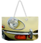 1970 Jaguar Xk Type-e Headlight Weekender Tote Bag