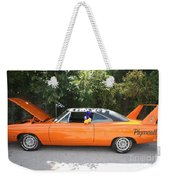 1970 Plymouth Dodge Superbird Weekender Tote Bag