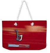 1971 Alfa Romeo Montreal Emblem Weekender Tote Bag