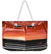 1971 Buick Gs Sport Coupe Weekender Tote Bag