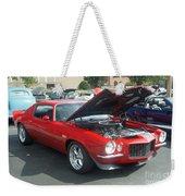 1971 Chevrolet Camaro Weekender Tote Bag