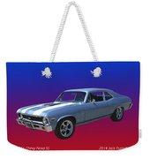 1971 Chevy Nova S S Weekender Tote Bag
