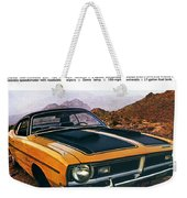 1971 Dodge Demon 340 Weekender Tote Bag