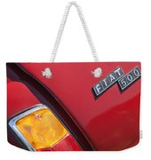 1971 Fiat 500 Jolly Taillight Weekender Tote Bag
