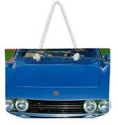 1971 Fiat Dino 2.4 Grille Weekender Tote Bag