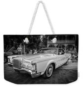 1971 Lincoln Continental Mark IIi Painted Bw   Weekender Tote Bag