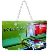 1971 Maserati Ghibli 4.9 Ss Spyder Taillight Emblem -0187c Weekender Tote Bag