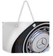 1971 Mercedes-benz Wheel Emblem Weekender Tote Bag