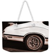 1972 Oldsmobile Cutlass 4-4-2 Weekender Tote Bag