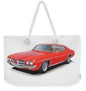 1972 Pontiac Lemans Weekender Tote Bag