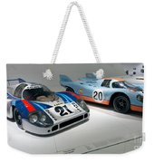 1972 Porsche 917 Lh Coupe And 1970 Porsche 917 Kh Coupe Weekender Tote Bag