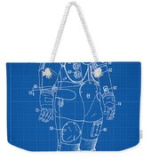1973 Nasa Astronaut Space Suit Patent Art Weekender Tote Bag