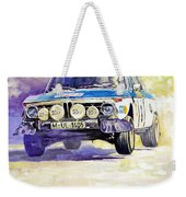 1973 Rallye Of Portugal Bmw 2002 Warmbold Davenport Weekender Tote Bag