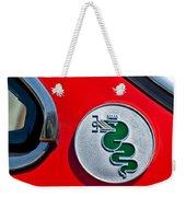 1974 Alfa Romeo Gtv Emblem  Weekender Tote Bag