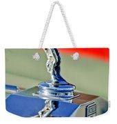 1976 Rolls Royce Silver Shadow Hood Ornament Weekender Tote Bag