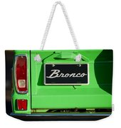1977 Ford Bronco Taillight Weekender Tote Bag