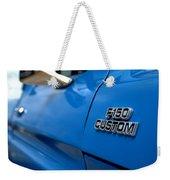 1977 Ford F 150 Custom Name Plate Weekender Tote Bag by Brian Harig