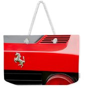 1979 Ferrari Taillight Emblem -0378c Weekender Tote Bag