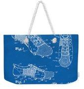 1980 Soccer Shoes Patent Artwork - Blueprint Weekender Tote Bag