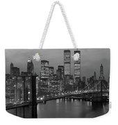 1980s New York City Lower Manhattan Weekender Tote Bag
