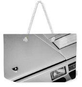1982 Lamborghini Countach 5000s Hood Emblem -1518bw Weekender Tote Bag