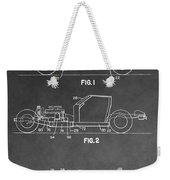 1983 Corvette Patent Weekender Tote Bag