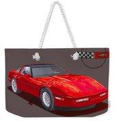 1986 Corvette Weekender Tote Bag