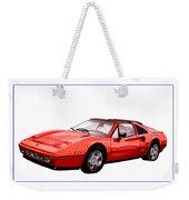 Ferrari 328 G T S 1986 Weekender Tote Bag