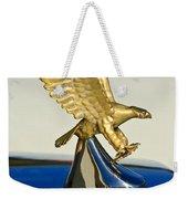 1986 Zimmer Golden Spirit Hood Ornament Weekender Tote Bag