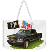 1988 Chevrolet M I A Tribute Weekender Tote Bag by Jack Pumphrey