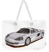 1991 Mercedes Benz C 112 Concept Weekender Tote Bag