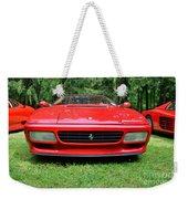 1993 Red Ferrari 512 Tr Weekender Tote Bag