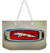 1995 Jaguar Emblem Weekender Tote Bag