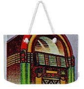 1995 Jukebox Stamp Weekender Tote Bag