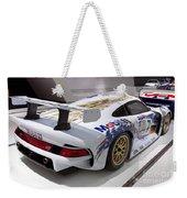 1996 Porsche 911 Gt1 Weekender Tote Bag