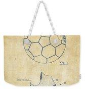 1996 Soccerball Patent Artwork - Vintage Weekender Tote Bag
