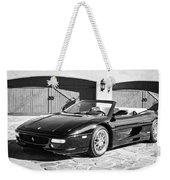 1997 Ferrari F 355 Spider -008bw Weekender Tote Bag