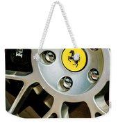1997 Ferrari F 355 Spider Wheel Emblem -125c Weekender Tote Bag