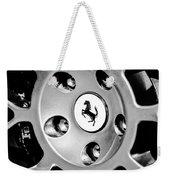 1997 Ferrari F 355 Spider Wheel Emblem -201bw Weekender Tote Bag