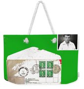 1st Day Cover 1950 Manila Philippine Islands David Lee Guss 1949 Passport Photo  Collage 1950-2012 Weekender Tote Bag