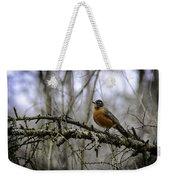 1st Robin Of Spring Weekender Tote Bag