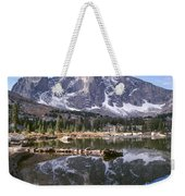 Cirque Of The Towers In Lonesome Lake 4 Weekender Tote Bag