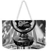 1911 Cadillac Roadster Hood Ornament Weekender Tote Bag