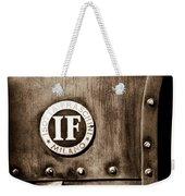 1913 Isotta Fraschini Tipo Im Emblem Weekender Tote Bag