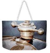 1922 Studebaker Touring Hood Ornament Weekender Tote Bag